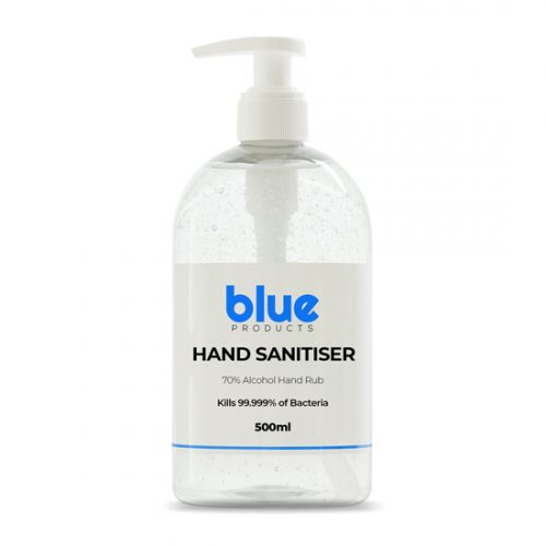 500ml Hand Sanitiser Blue Products