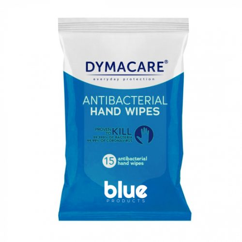 Antibacterial Wet Wipes Blue Products